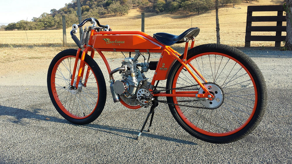 Sportsman Flyer Motorbikes: best frame for motorized bicycle