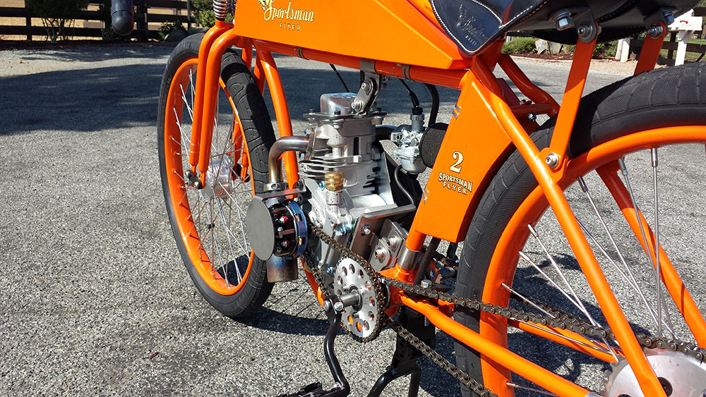 Sportsman 80 four stroke engine install kit sportsman for Little motors for bicycles