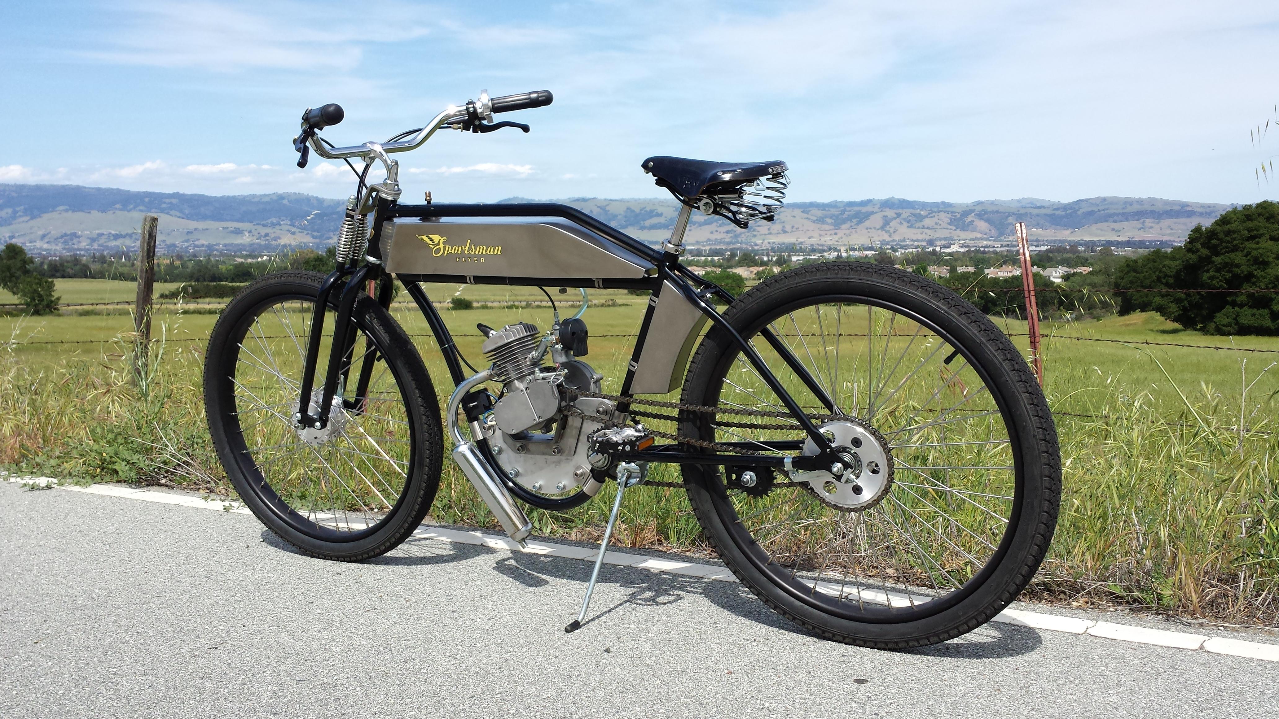 Sportsman Flyeron Two Stroke Bicycle Engine Kits