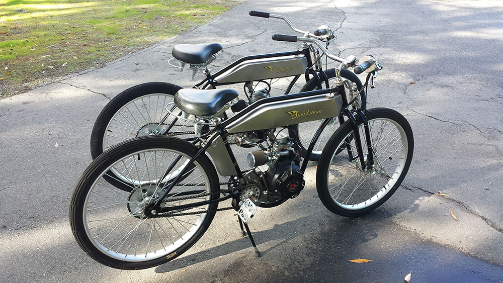 Sportsman 80 sportsman flyer motorbikes Best frame for motorized bicycle